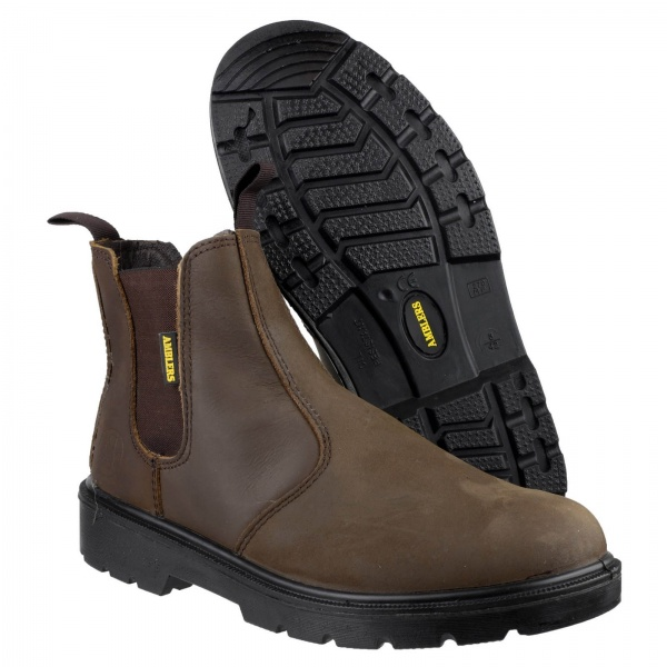 AMBLERS FS128 HARDWEARING PULL ON SAFETY DEALER BOOT