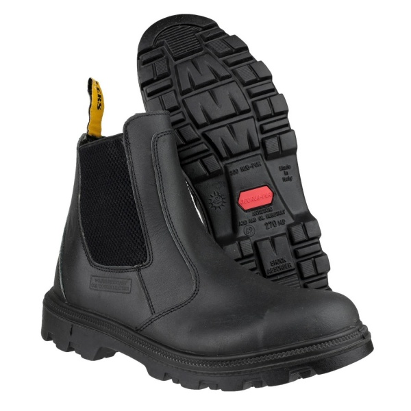 AMBLERS FS129 WATER RESISTANT PULL ON SAFETY DEALER BOOT