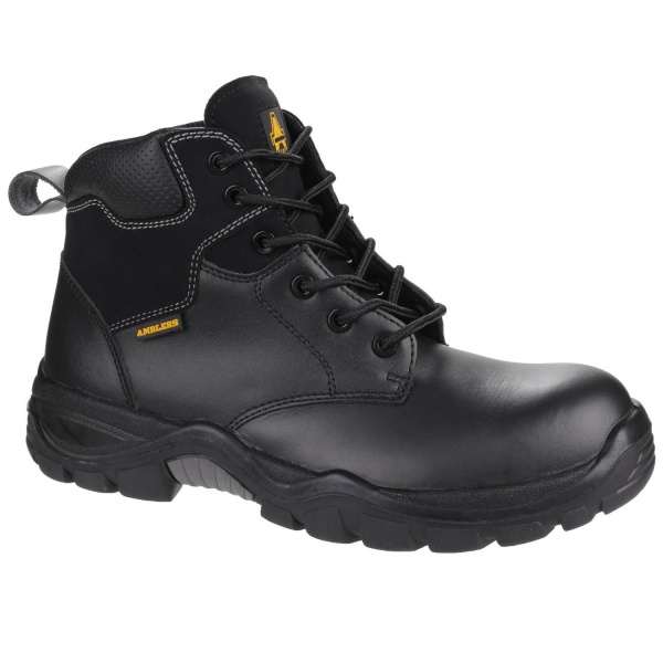 AMBLERS AS302C METAL-FREE  LACE UP SAFETY BOOT