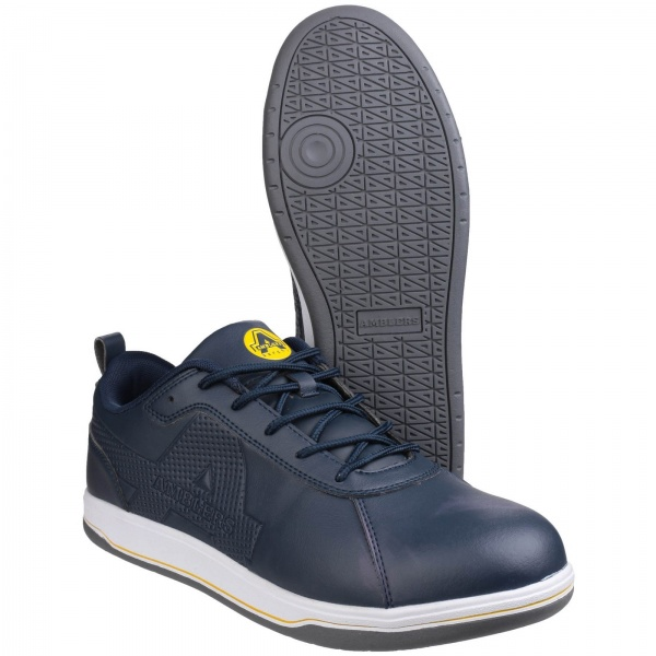 AMBLERS AS709 ETTRICK VEGAN-FRIENDLY LACE UP SAFETY TRAINER