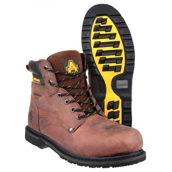 AMBLERS FS145 WATERPROOF WELTED LACE UP SAFETY WORKBOOT