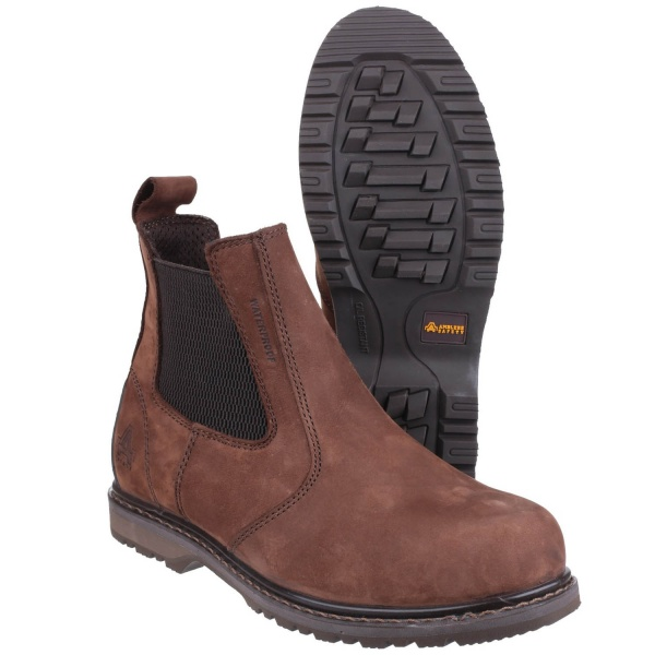 AMBLERS AS148 SPERRIN WATERPROOF PULL ON DEALER SAFETY BOOT