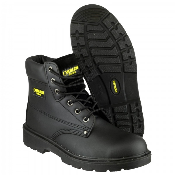 AMBLERS FS159 WATER-RESISTANT LACE UP SAFETY BOOT