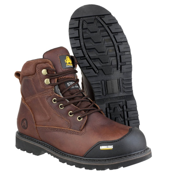 AMBLERS FS167 GOODYEAR WELTED LACE UP SAFETY BOOT