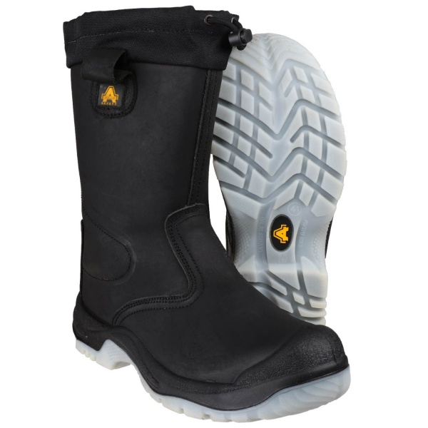 22f27a27364 AMBLERS FS209 WATER RESISTANT PULL ON SAFETY RIGGER BOOT