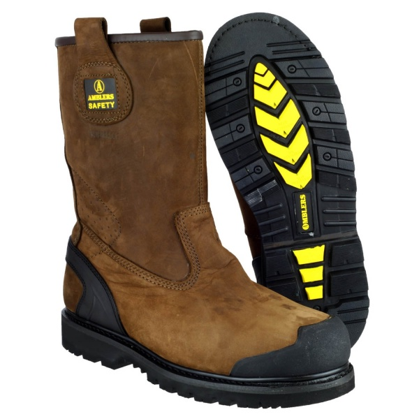 48bf3fa7274 AMBLERS FS223 GOODYEAR WATERPROOF INDUSTRIAL SAFETY BOOT