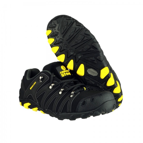 AMBLERS FS23 EXTRA LIGHTWEIGHT SOFT SHELL SAFETY TRAINER