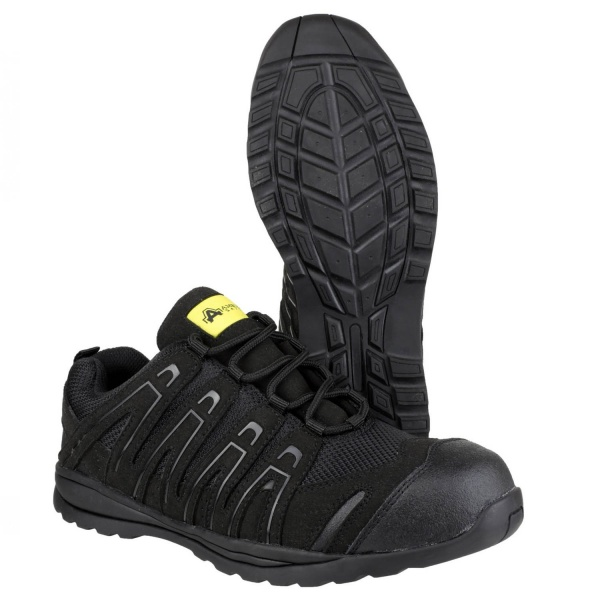 AMBLERS FS40C LIGHTWEIGHT METAL FREE LACE UP SAFETY TRAINER