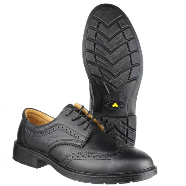 AMBLERS FS44 ANTISTATIC LACE UP BROGUE SAFETY SHOE
