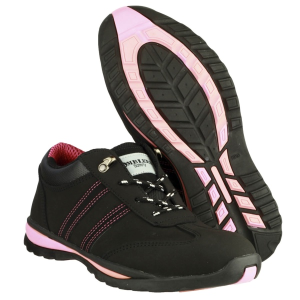 AMBLERS FS47 HEAT RESISTANT LACE UP SAFETY TRAINER