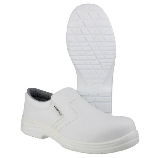 AMBLERS FS510 METAL-FREE WATER-RESISTANT SLIP ON SAFETY SHOE