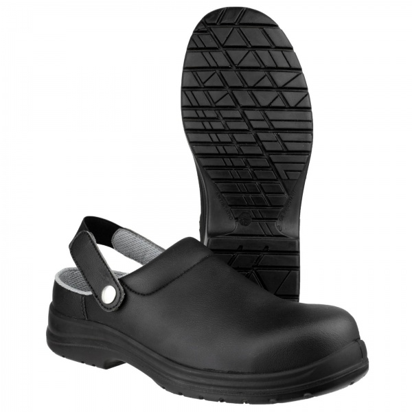 AMBLERS FS514 ANTISTATIC SLIP ON SAFETY CLOG
