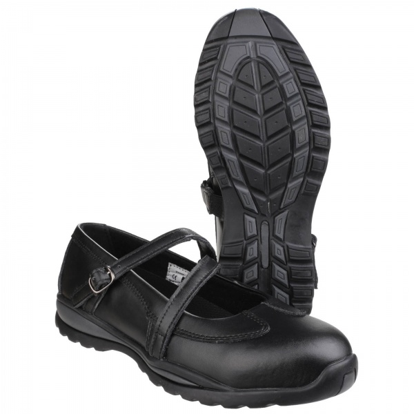 AMBLERS FS55 HARDCORE MARY-JANE BUCKLE SAFETY SHOE