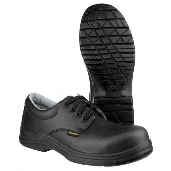 AMBLERS FS662 METAL FREE WATER RESISTANT LACE UP SAFETY SHOE