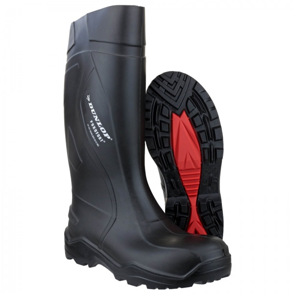 DUNLOP PUROFORT+ SAFETY WELLINGTON BOOT