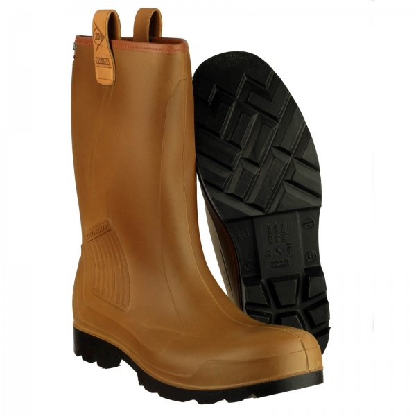 DUNLOP R-AIR LINED C462 WELLINGTON BOOT