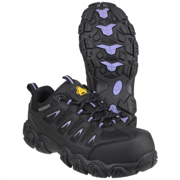AMBLERS AS708 WATERPROOF NON-METAL LADIES SAFETY TRAINER