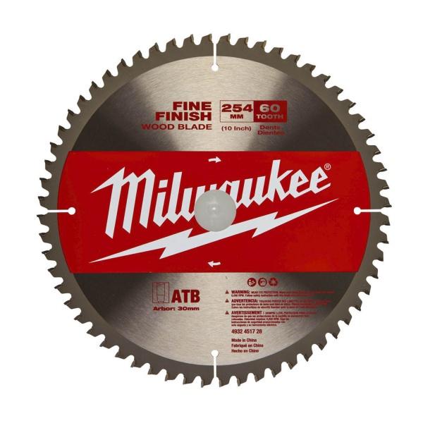 MILWAUKEE 4932451728 CIRCULAR SAW BLADE 254x30x60Z