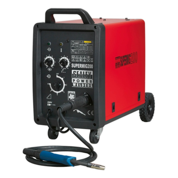 SEALEY SUPERMIG200 200AMP PRO MIG WELDER