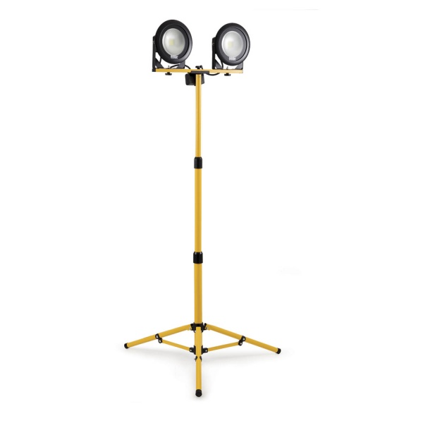 DEFENDER DF1200 TRIPOD TWIN LED LIGHT 110V