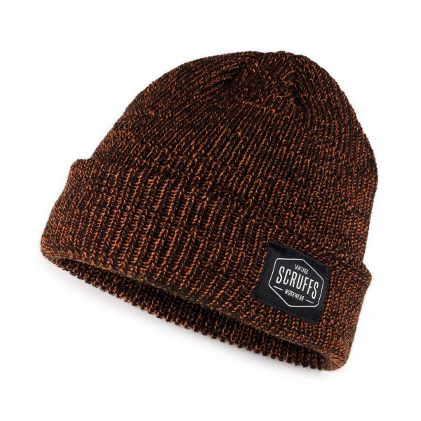 SCRUFFS T53061 VINTAGE BEANIE HAT ORANGE/BLACK