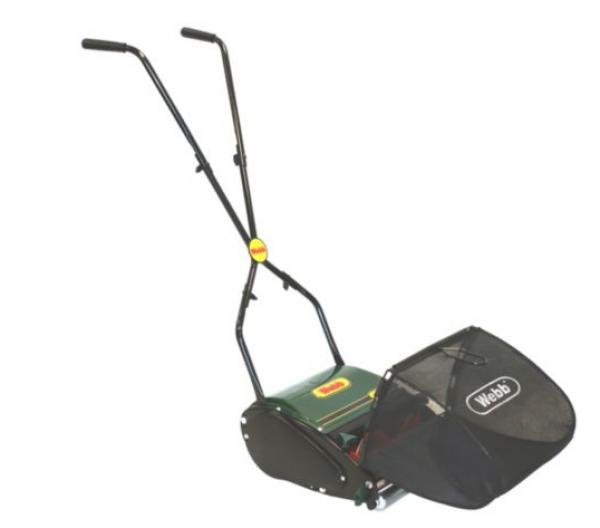 """Webb 12"""" Roller  Hand Lawnmower"""
