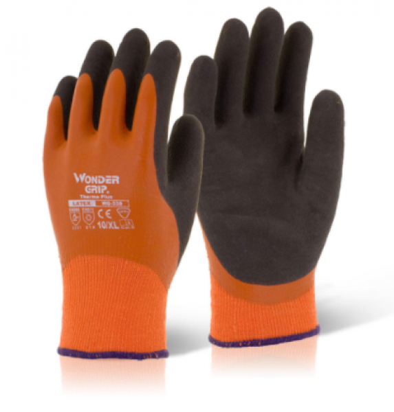 WONDER GRIP THERMO PLUS ORANGE