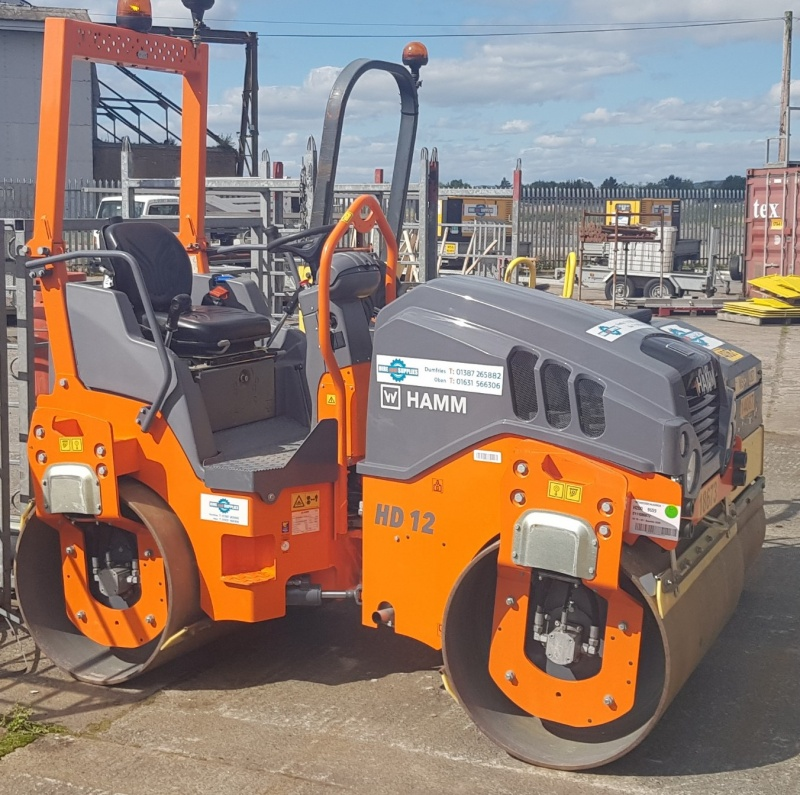 HAMM HD 12 Twin Drum Roller 1200mm