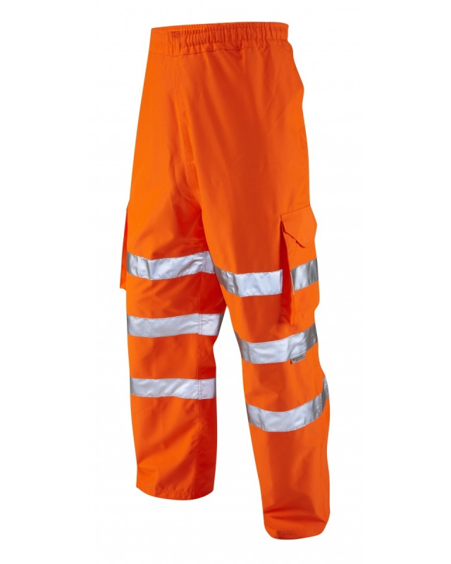 Instow Class 1 Executive Cargo Overtrousers - Orange