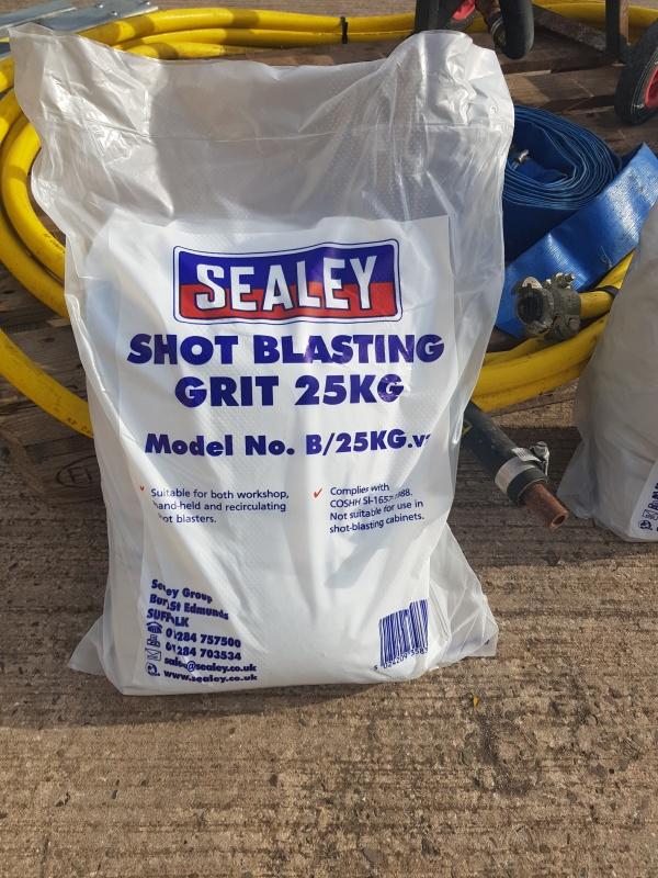Sealey Shot Blasting Grit 25KG