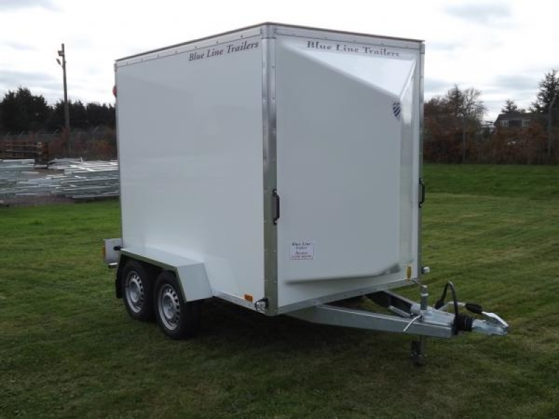 8' x 5' x 6' Tandem Axle Box Van Trailer