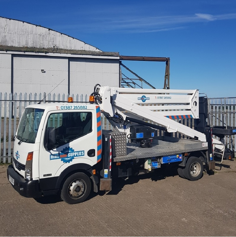 Driver Operated Cabstar Cte lift 20m - 4 Hour minimum
