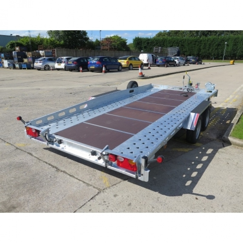 14' X 7' CAR TRANSPORTER TRAILER (2700KG)
