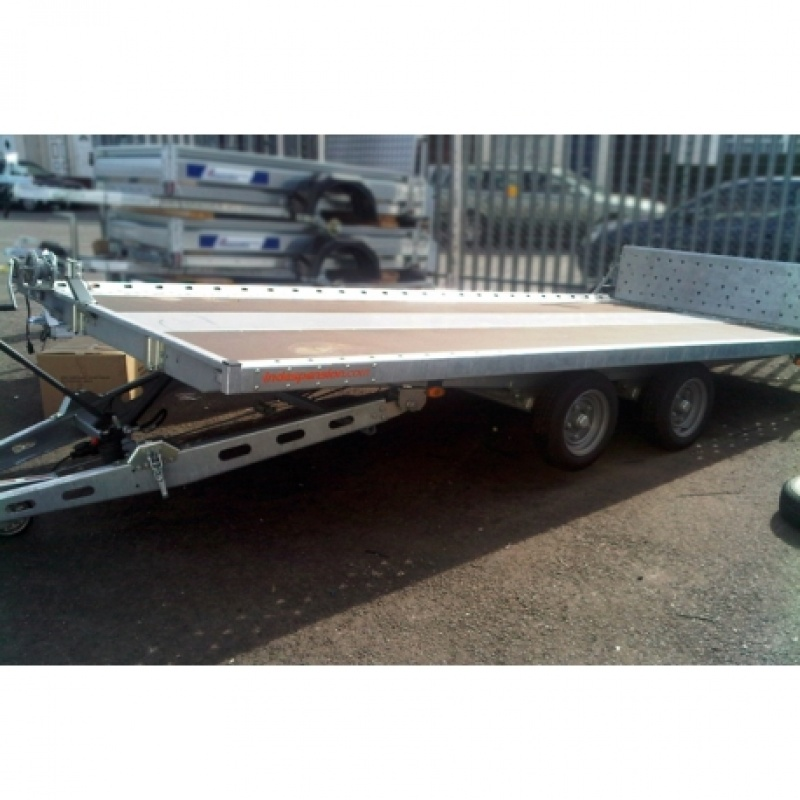16' X 7' TILTDECK CAR TRAILER (3500KG)