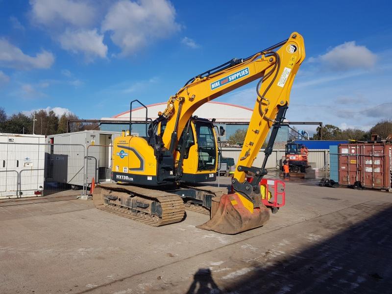 Hyundai HX 130 LCR 13 ton Excavator