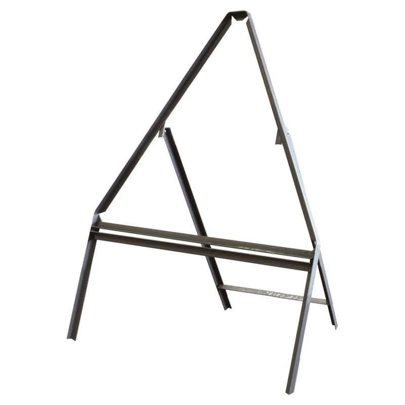 Metal Triangle Road sign Frame