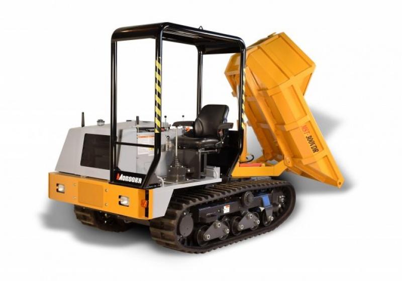 Kubota 3 ton Swivel Dumper