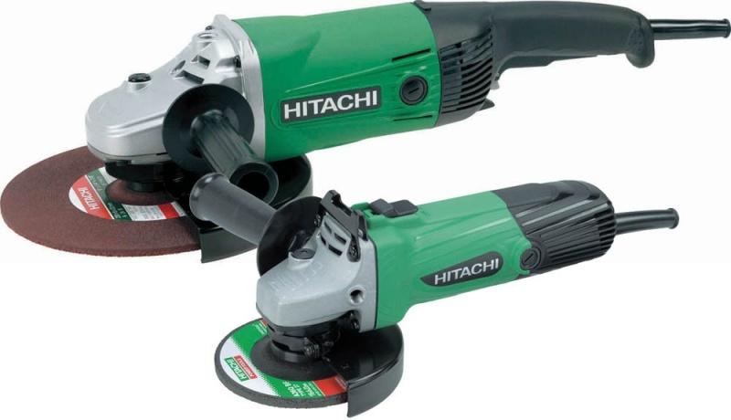 Hitachi Angle Grinder Twin Pack - 240V