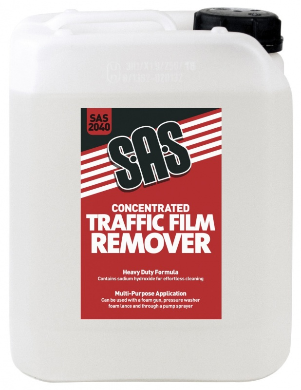 SAS Concentrated Traffic Film Remover