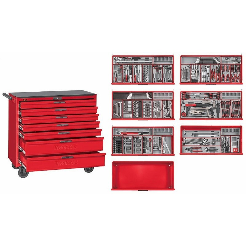 Teng Tools 622 Piece Work Station TCMM622N