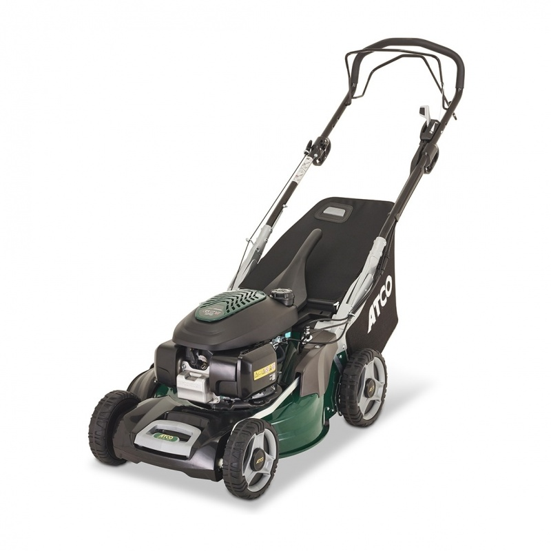 ATCO QUATTRO 19SH V 4 IN 1 48CM SELF-PROPELLED PETROL LAWNMOWER