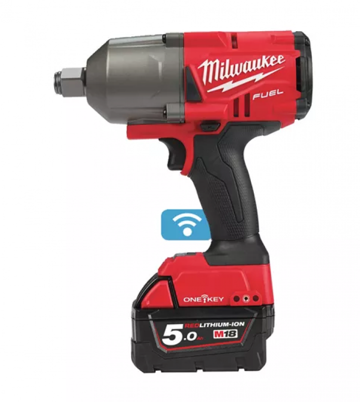 Milwakee M18 ONEFHIWF34 ONE-KEY™ FUEL™ ¾˝ IMPACT WRENCH WITH FRICTION RING