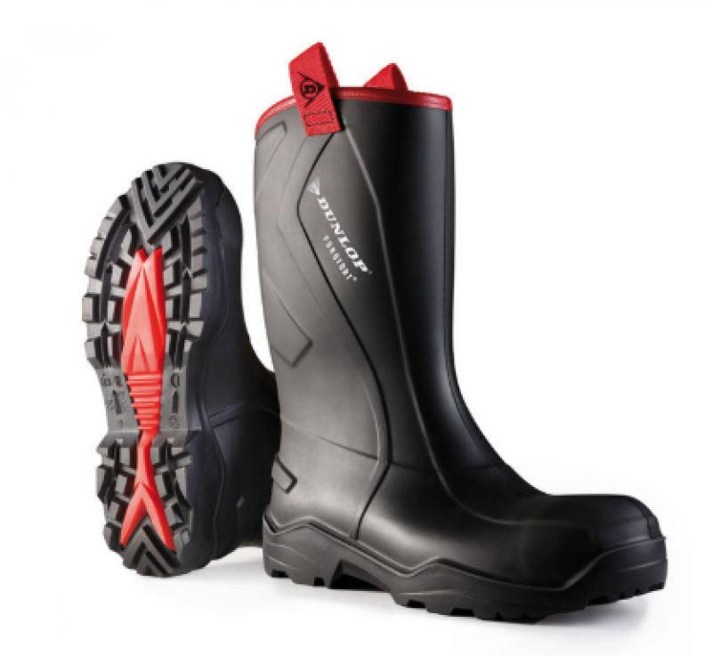 PUROFORT + RUGGED FULL SAFETY BOOT