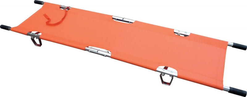LIGHTWEIGHT TWO FOLD STRETCHER