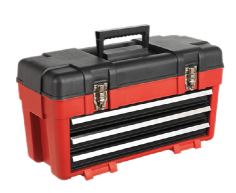 Sealey Toolbox 585mm 3 Drawer Portable