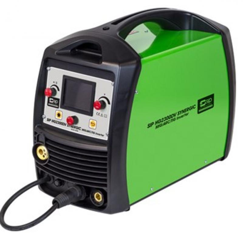 SIP HG2300DV MIG/TIG/ARC Synergic Inverter 05780
