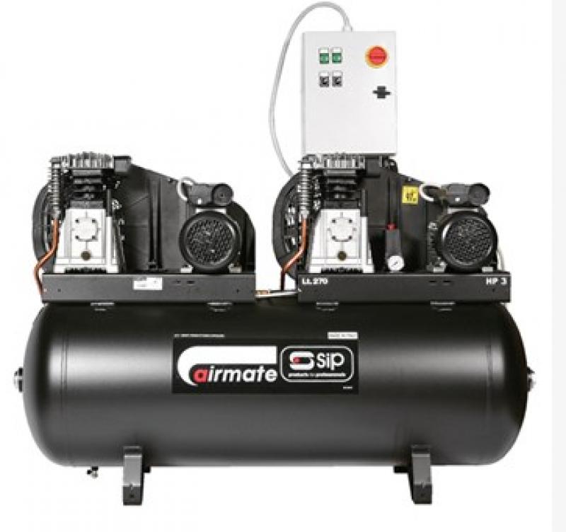 SIP B3800/270 Tandem Air Compressor 05251