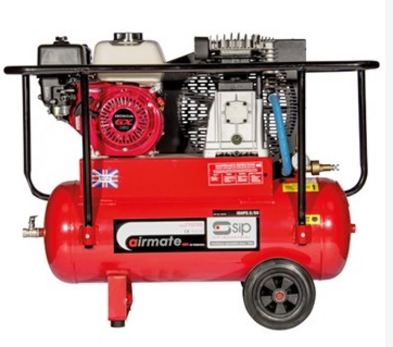 SIP ISHP5.5/50 Super Petrol Compressor 04444