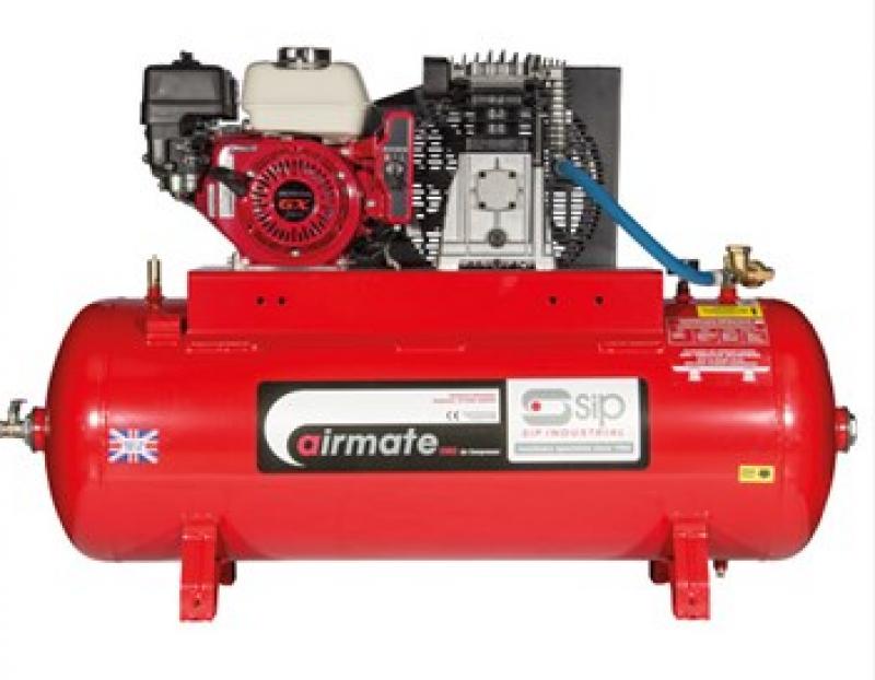 SIP ISHP5.5/150-ES Super Petrol Compressor 04451