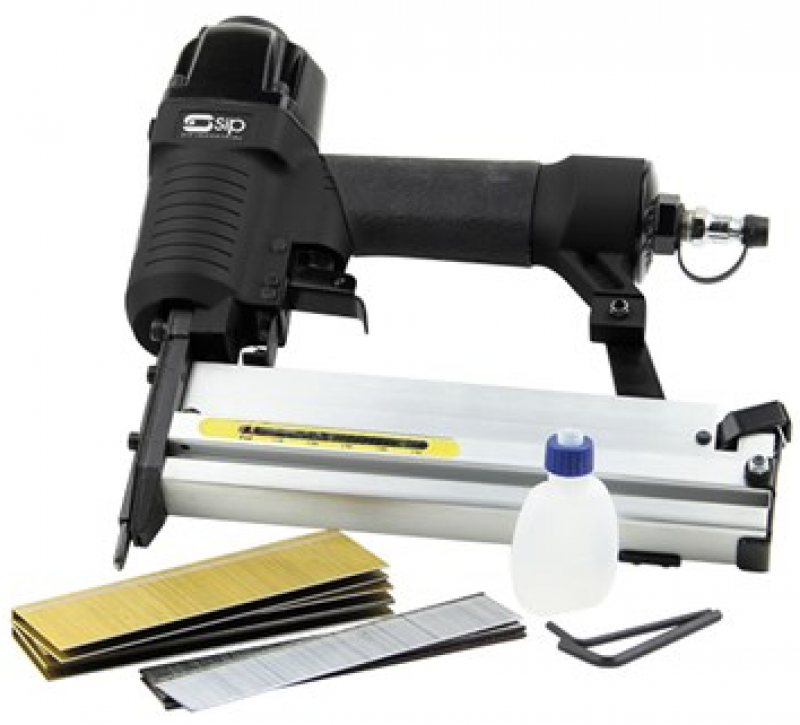 SIP 2-in-1 Air Nailer & Stapler Kit 06771